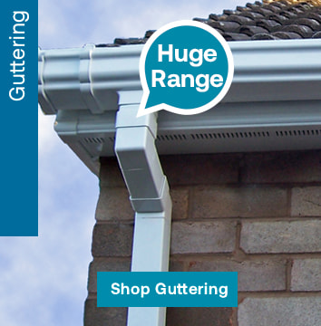 We offer a wide variety of colours and capacities of guttering and downpipes to meet your needs