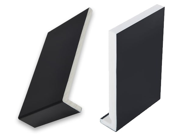 Black uPVC fascia board