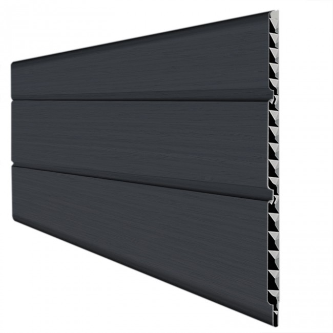 Anthracite Grey Woodgrain Soffit Boards