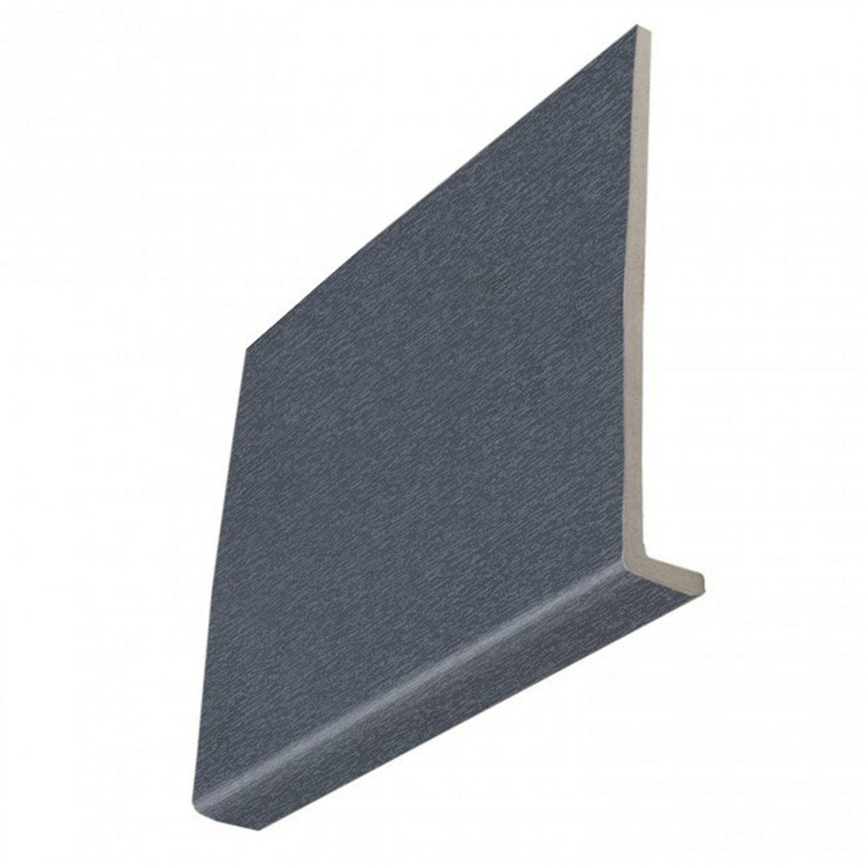 9mm Square Anthracite Grey Woodgrain Fascia Boards