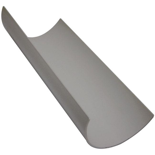 Grey 112mm Half Round Guttering