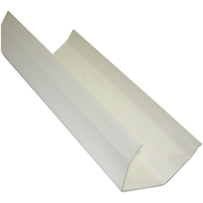 White 117mm Square Guttering