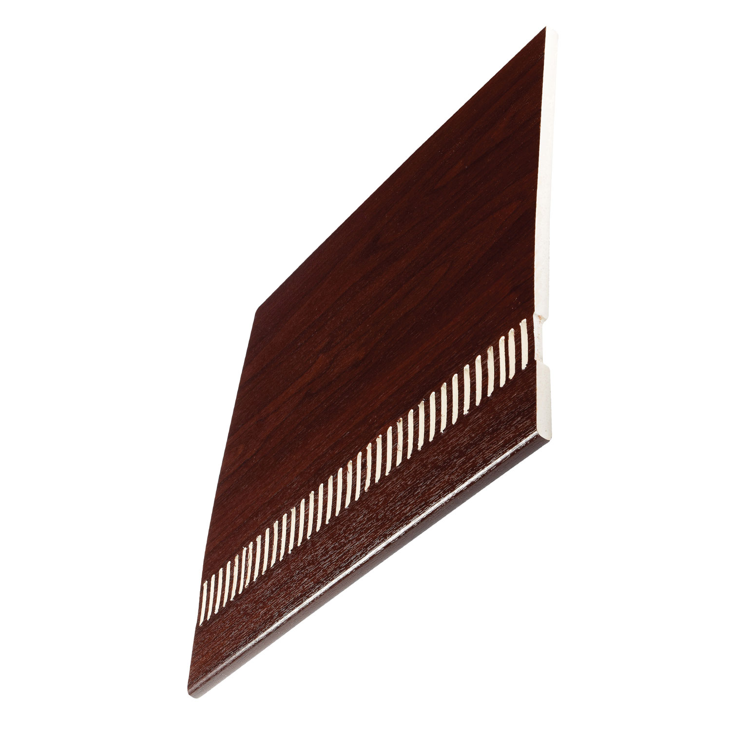 9mm Rosewood Pre-Vented Soffit Boards