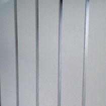 Chrome Strip Wall Panels
