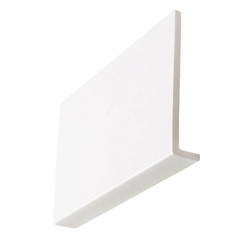 9mm Square White Fascia Boards