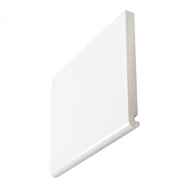 22mm Bullnose White Full Replacement Fascia Boards
